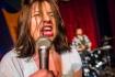 Sarah Rudinoff- scream, Photo by Charles Peterson