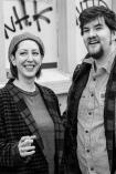 Terri Weagant and Evan Crockett, Photo by Charles Peterson